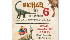 Birthday Invitation Templates Dinosaurs 26 Dinosaur Birthday Invitation Templates Free Sample