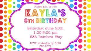 Birthday Invitation Templates Electronic Electronic Birthday Invitation Best Party Ideas