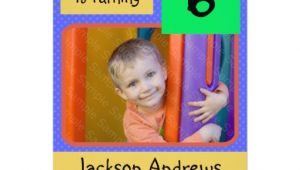 Birthday Invitation Templates for 6 Year Old Boy 6 Year Old Birthday Party Invitations Boy 5 Quot X 7
