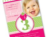 Birthday Invitation Wordings for 1 Year Old 3 Year Old Birthday Party Invitation Wording