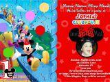 Birthday Invitations at Walmart Mickey Mouse Clubhouse Birthday Invitations Walmart
