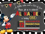 Birthday Invitations Free Printable Mickey Mouse 31 Mickey Mouse Invitation Templates Free Sample