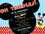 Birthday Invitations Free Printable Mickey Mouse Free Printable Mickey Mouse Invitatons Birthday