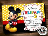 Birthday Invitations Free Printable Mickey Mouse Mickey Mouse Invitation Templates – 26 Free Psd Vector