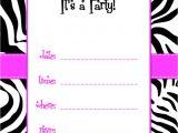 Birthday Invitations Free Printable Templates Birthday Invitations Free Printable Template