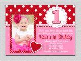 Birthday Invitations Wording for 1st Birthday 1st Birthday Invitations Girl Free Template Baby Girl S