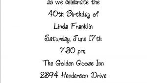 Birthday Invite Messages for Adults Birthday Invitation Wording for Adults