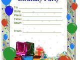 Birthday Invite Template 50 Free Birthday Invitation Templates You Will Love