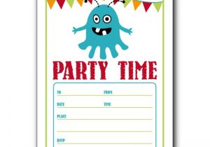 Birthday Invite Template Free Birthday Party Invitation Templates for Word