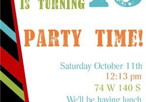 Birthday Invite Template Free Printable Birthday Invitation Templates