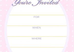 Birthday Invite Template Free Printable Golden Unicorn Birthday Invitation Template