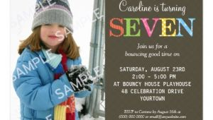 Birthday Invite Wording for 7 Year Old 7th Birthday Party Invitation Wording Free Invitation