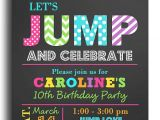 Birthday Party Invitation Template Trampoline 18 Best Birthday Parties Sky Zone Images On Pinterest