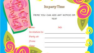 Birthday Party Invitation Template Word 40th Birthday Ideas Birthday Invitation Templates for