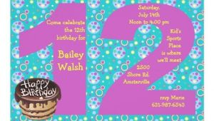 Birthday Party Invitations for 12 Year Olds 12 Year Old Birthday Invitations for Girls