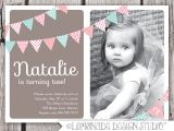 Birthday Party Invitations for 2 Year Old 2 Years Old Birthday Invitations Wording
