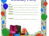 Birthday Party Invitations Templates 50 Free Birthday Invitation Templates – You Will Love