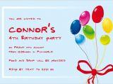 Birthday Party Invite Wording Birthday Party Invitation Wordings Sample Birthday Party