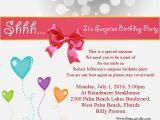 Birthday Party Invite Wording Surprise Birthday Party Invitation Wording Wordings and