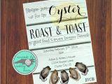 Birthday Roast Invitations Oyster Roast Invitation Oyster Roast Birthday Oyster Roast