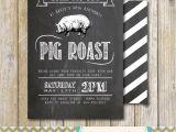 Birthday Roast Invitations Pig Roast Party Invitation Birthday House Warming Couples