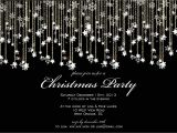 Black and White Christmas Party Invitations Black and White Christmas Party Invitations Invitation
