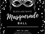 Black and White Masquerade Party Invitations Customize 148 Masquerade Invitation Templates Online Canva