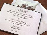 Black Tie On Wedding Invitation Elegant Wedding Invitation Wording Black Tie Optional