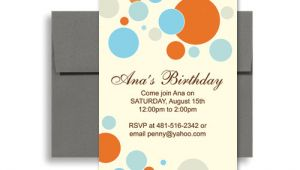 Blank Birthday Invitation Templates for Microsoft Word Bright Colorful Kids Microsoft Word Birthday Invitation