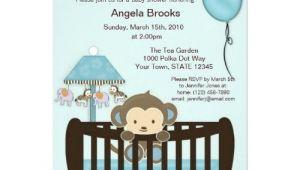 Blank Monkey Baby Shower Invitations Free Printable Monkey Invitations Blank