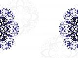 Blank Wedding Invitation Template Wedding Shower Blank Templates Royal Blue Wedding