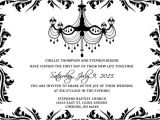 Blank Wedding Invitation Templates Black and White Wedding Invitations Template Set Psd Photoshop Gimp