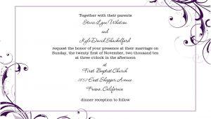 Blank Wedding Invitation Templates for Microsoft Word Free Blank Wedding Invitation Templates for Microsoft Word