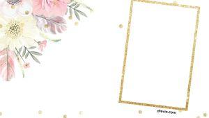 Boho Birthday Invitation Template Free Free First Boho Chic Birthday Invitation Templates Free