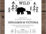 Born to Be Wild Baby Shower Invitations Born to Be Wild Shower Invitations