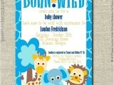 Born to Be Wild Baby Shower Invitations Etsy Your Place to and Sell All Things Handmade