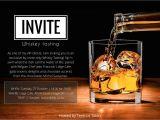 Bourbon Tasting Party Invitations Vip Invite Rich Ideas