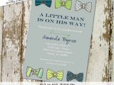Bow Tie themed Baby Shower Invitations 301 Moved Permanently