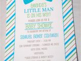 Bow Tie themed Baby Shower Invitations Baby Face Design Bow Tie Baby Shower Invitations