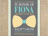 Bow Tie themed Baby Shower Invitations Bow Tie Baby Shower Invitation by Uluckygirl On Etsy