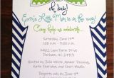 Bow Tie themed Baby Shower Invitations Bow Tie Baby Shower Invitation