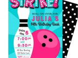 Bowling Party Invitation Template Free Bowling Invitation Printable or Printed with Free Shipping