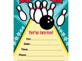 Bowling Party Invitation Template Free Bowling Invitation Template Free