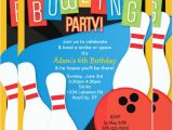 Bowling Party Invitation Template Word 16 Bowling Invitation Templates Psd Vector Eps