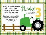 Boy Tractor Birthday Invitations Birthday Invites Tractor Birthday Invitations Celebrate