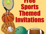 Boys Sports Birthday Invitations Free Printable Sports Birthday Party Invitations Templates