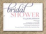Bridal Display Shower Invitation Wording Reserved Listing for Julie