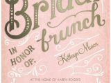 Bridal Shower Brunch Invitation Template Bridal Brunch Signature White Bridal Shower Invitations