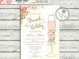 Bridal Shower Brunch Invitation Template Brunch and Bubbly Bridal Shower Invitation Brunch Invite