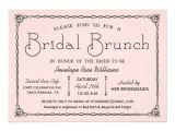 Bridal Shower Brunch Invitation Template Vintage Bridal Brunch Bridal Shower Invitations Zazzle